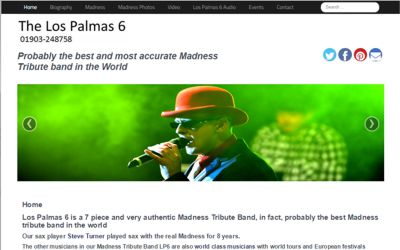 The Los Palmas 6 - website updates and SEO from A Clear Web Worthing