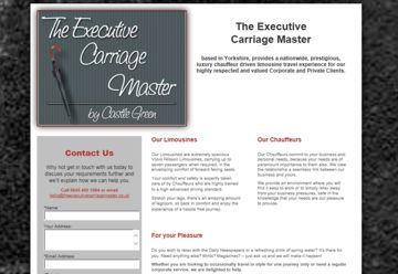 The Executive Carriage Master