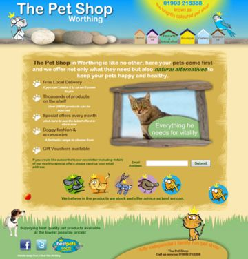 The Pet Shop Worthing